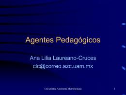 Agentes Pedagógicos