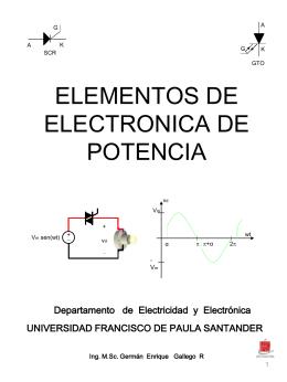 Diapositiva 1 - Ingeniería Electromecánica