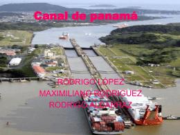 """Canal de panamá - Blog del Liceo Nº 53 """"Raoul"""