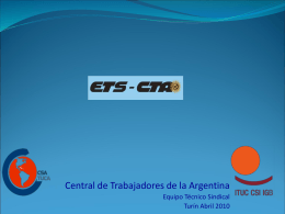 DE LA PRIVATIZACIÓN A LA REESTATIZACIÓN: EL CASO