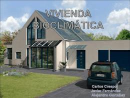 VIVIENDA BIOCLIMÁTICA - Tecnología en el IES