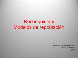 Modelos de repoblación