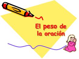 El peso de la oración - Archidiócesis de Madrid