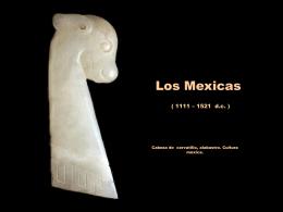 Cultura Mexica o Azteca