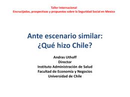 Ante escenario similar: ¿Qué hizo Chile?