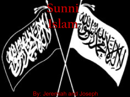 Sunni Islam - World Literature from 1660