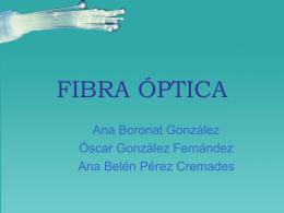 FIBRA ÓPTICA - Universidad de Alicante