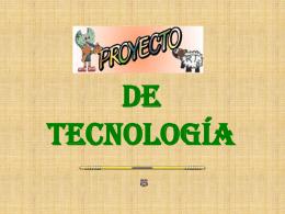 Proyecto de tecnología
