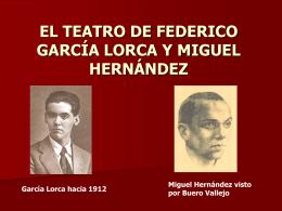 EL TEATRO DE FEDERICO GARCÍA LORCA Y MIGUEL