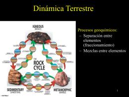 Geoquímica de los Elementos Traza