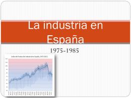 La industria en España