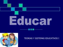 ETICA Y EDUCACIÓN