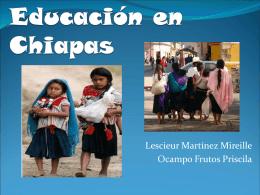 Educación en Chiapas