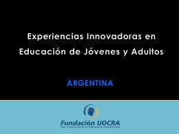 Educación para Jóvenes y Adultos