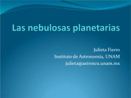 Nebulosas planetarias Figuras