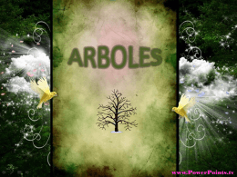 ARBOLES - PowerPoints