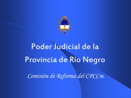 Poder Judicial de Río Negro