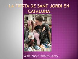 La Fiesta de Sant Jordi en Cataluña