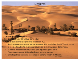 Características de la Selva, Bosques y Praderas