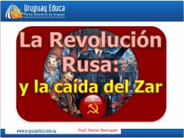 La Revolución Rusa - Portada Principal Uruguay