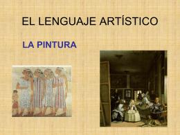 EL LENGUAJE ARTÍSTICO - Ciencias Sociales
