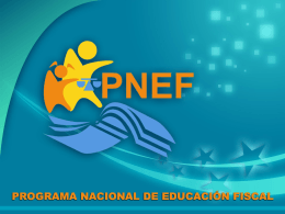 CIUDADANIA FISCAL - Programa de Educação Fiscal