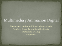 Multimedia y Animación Digital