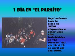 """1 Día en """"El paraíso"""" - Universidad de Cádiz"""