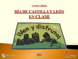 """Concurso """"Día de Castilla y León en clase"""" 2012"""