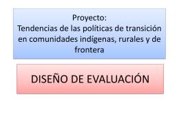 Proyecto: Tendencias de las políticas de