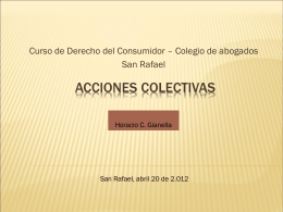 curso sobre la protección jurídica del consumidor