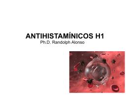ANTIHISTAMÍNICOS H1 - Transcripciones Cuartos 2008