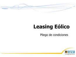 Leasing Eólico