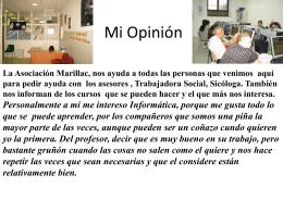Mi Opinión