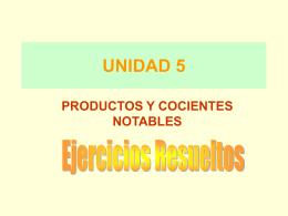 UNIDAD 5 - FES Acatlán - Matemáticas e Ingeniería