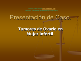 Presentación de Caso.