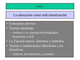 BLOQUE I: ASPECTOS EPISTEMOLÓGICOS Y NORMATIVOS DE