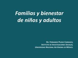 Familias y Bienestar en sociedades democráticas