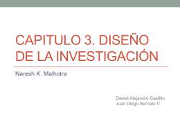 Capitulo 3. diseño de la investigación