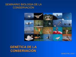 SEMINARIO BIOLOGIA DE LA CONSERVACIÓN