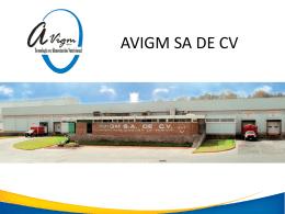 AVIGM SA DE CV - Cámara Nacional de la Industria