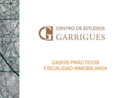 CASOS PRÁCTICOS FISCALIDAD INMOBILIARIA