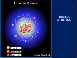 Historia: modelos atómicos