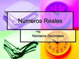 Números Reales
