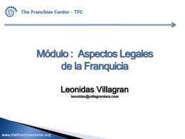 Presentación Legal TFC - Villagrán Lara Abogados