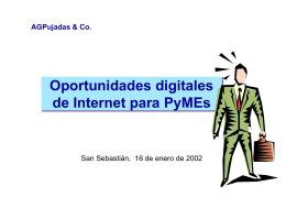 Las PYMES ante la Sociedad de la Información