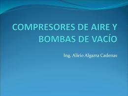 COMPRESORES DE AIRE Y BOMBAS DE VACÍO