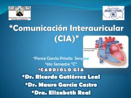 """Comunicación InterAuricular (CIA)"""""""