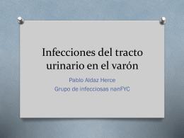 Infecciones de vías urinarias en el varón