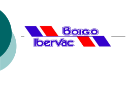 Diapositiva 1 - Boigo Ibervac, S.L.